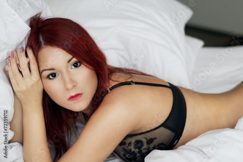 Redhead gets laid