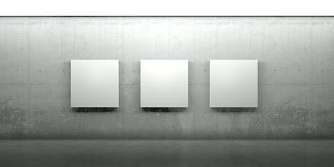 Galerie, Gemälde, Architektur