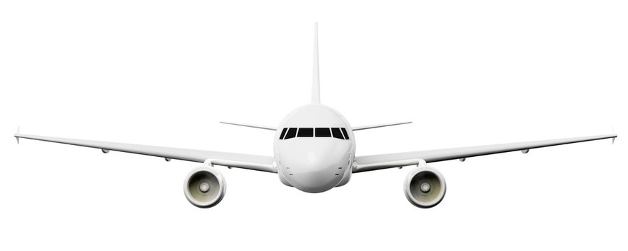 airplane front