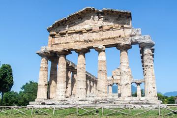 Classical greek temple