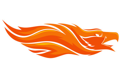 flaming Phoenix vector