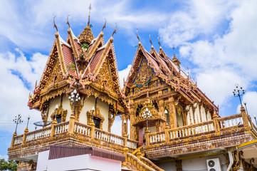 Church in temple, Thailand