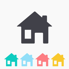 Vector icon home