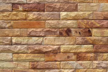 Sand stone wall surface, background of decorate - wallpaper