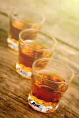 alcoholic shots