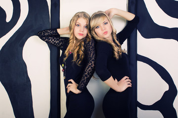 sisters twins