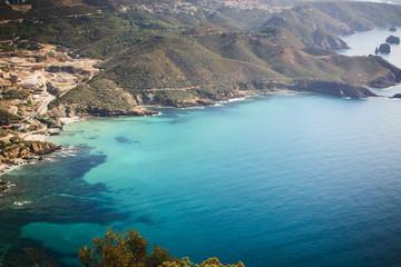 Turquoise waters of Sardinia