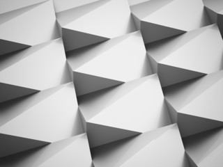 Silver abstract triangle background