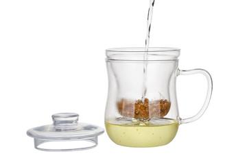 Preparation of the chamomile tea