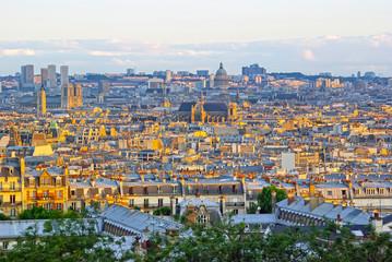 Beautiful Paris up view