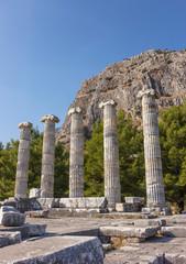 Athena Polias temple ruins