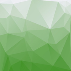 abstract triangle green tones geometrical background