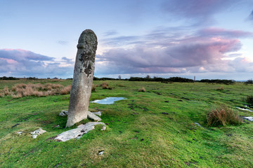Wall Mural - Standing Stone on Bodmin Moor