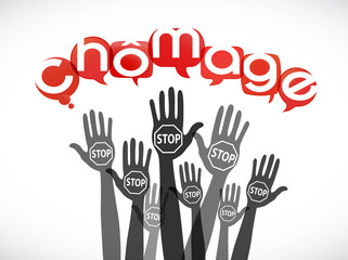 groupe mains : stop chômage