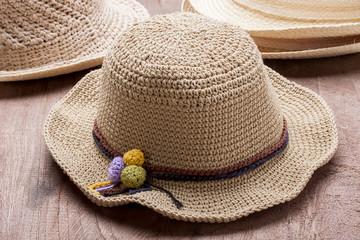Hats Crochet from Hemp