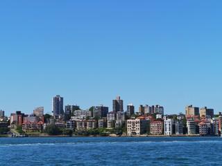 View of Sydney center in Australia