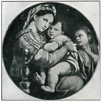 Madonna della seggiola (Raphael, 1513-1514)