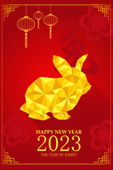 Chinese New Year design for Year of rabbit