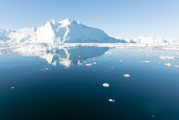Acrylic Prints Pole Beautiful Iceberg