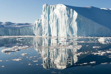 Photo sur Aluminium Pôle Beautiful Iceberg