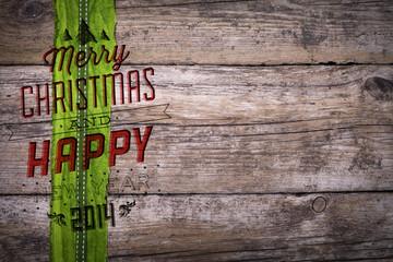 Weihnachtshintergrund Postkarte