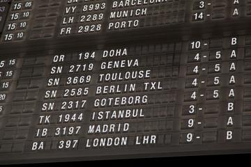 Terminal Info Board - 15