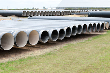 Big industrial pipes