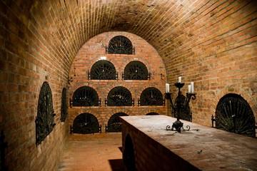 Fototapete - Hungarian wine cellar