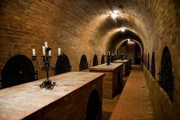 Wall Mural - Hungarian wine cellar