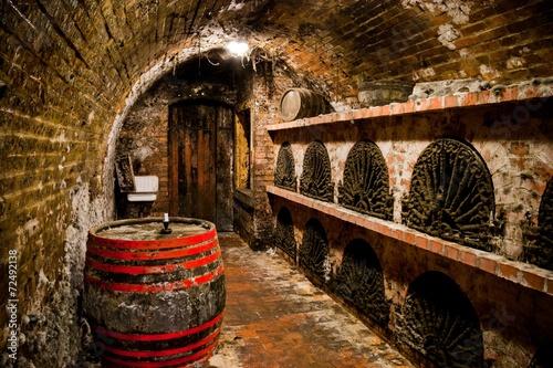 Fototapete Hungarian wine cellar