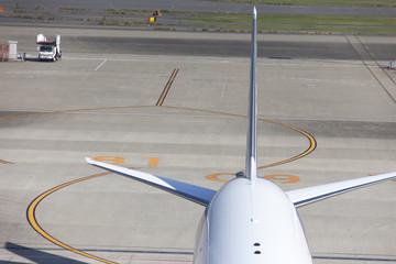 旅客機の尾翼