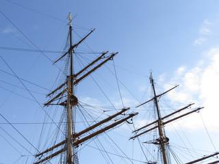 横浜 みなとみらい 帆船「日本丸」