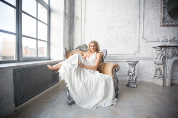 Bride wedding dress portrait woman fashion