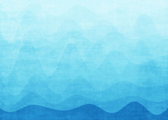 Wall Murals Abstract wave Abstract blue wave background