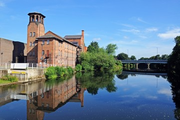 The old Silk Mill, Derby © Arena Photo UK
