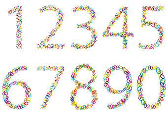 set of bright vector bubbles numbers