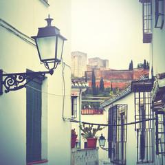 Wall Mural - Street in Granada
