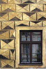 Impressive facade wall with Windows