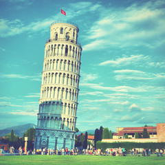 Wall Mural - Leaning Tower