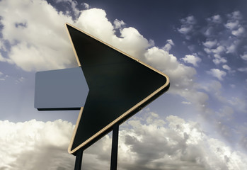 Retro vintage Route 66 Highway sign