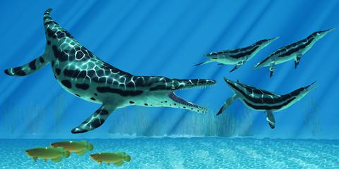 Kronosaurus Marine Reptile