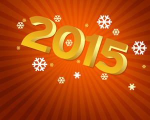 New Year 2015 - orange