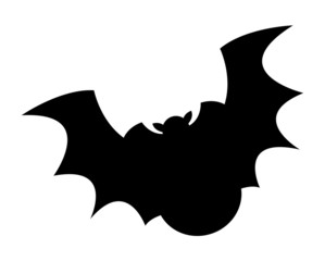 Funny Bat Bird Flying Shape