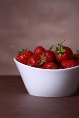 Obraz strawberry - fototapety do salonu