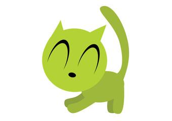 kot rozciągający się