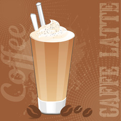 Caffee Latte Background