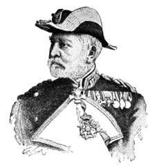 Portrait of Vice Admiral Reinhold von Werner.