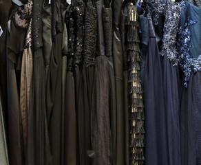 Luxury dresses background