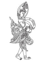 Thai art angle 1