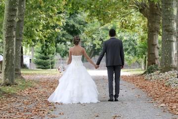 Mariés, mariage, union